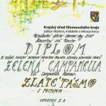 Diplom-zlaté pásmo, Uničov