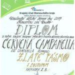 Diplom Červená Campanella