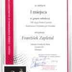 Diplom František Zapletal