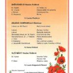 Program Společný koncert 8.6.2018